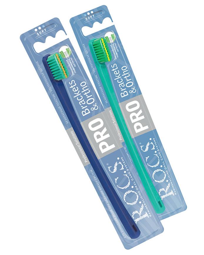 Зубная щетка R.O.C.S. Pro brackets