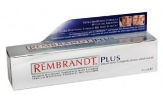 Зубная паста Rembrandt plus