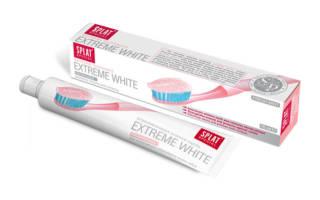 Зубная паста Splat extreme white