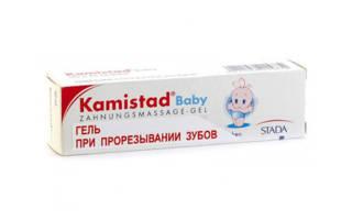 Препарат Камистад