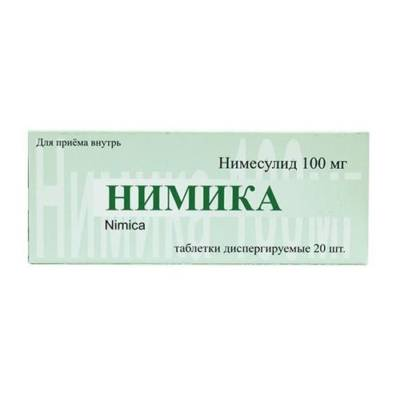 Препарат Нимика