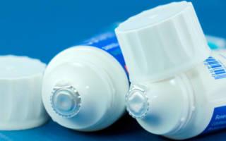 Тюбики зубных паст