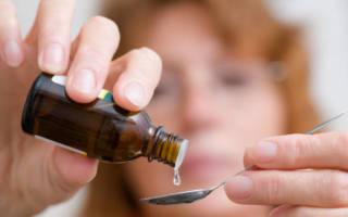 Применение зубных капель