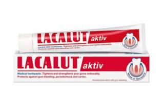 Зубная паста Lakalut aktiv