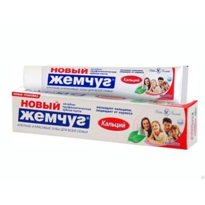 Зубная паста Новый жемчуг с кальцием