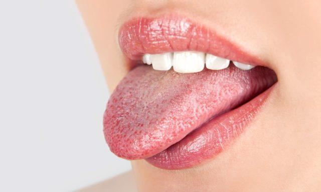 Воспаление кончика языка