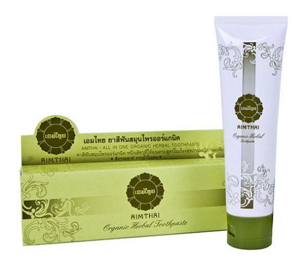 AIMTHAI Organic Herbal Toothpaste ALL IN ONE