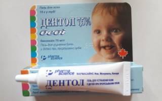 Препарат Дентол