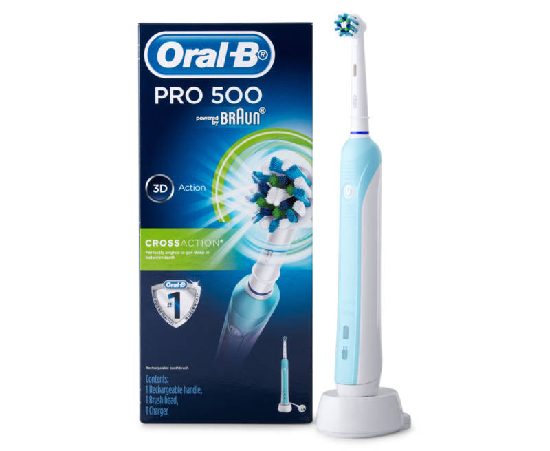 Щетка Oral-B Pro 500 CrossAction