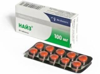 Таблетки от боли Найз