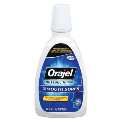 Раствор Orajel Mouth Sore Rinse