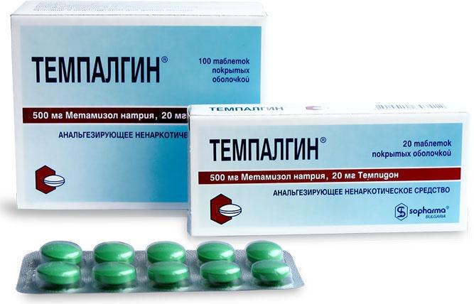 Препарат Темпалгин