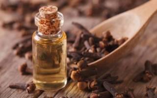 Гвоздика и эфирное масло