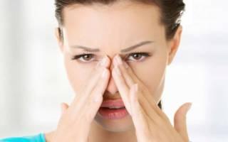 Болят пазухи носа