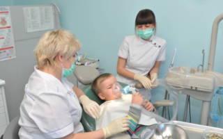 Наркоз в детской стоматологии