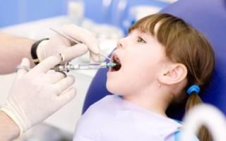 Анестезия ребенку в стоматологии