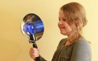 Применение лампы Минина