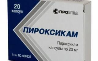 Таблетки Пироксикам