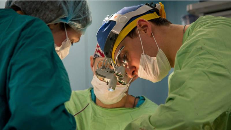 Хирургический метод исправления прикуса
